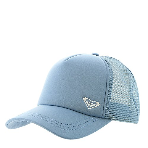 Roxy Junior's Finishline Trucker Hat, Blue Shadow, One Size