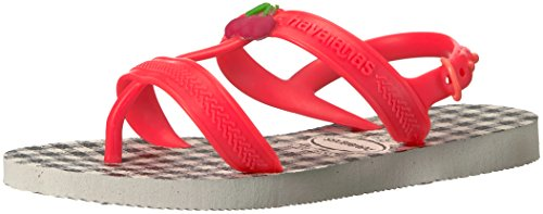 Pictures of Havaianas Kids Joy Spring Sandal White/Coral 1