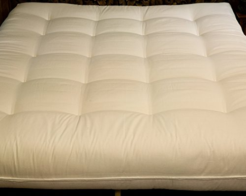 Cotton Cloud Natural Beds and Furniture Wellspring Supreme California King Futon ()