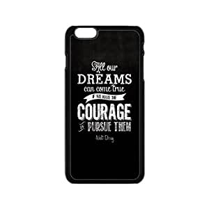 Walt Disney Dream Quotes Design Hard Case Cover Protector For Iphone 6