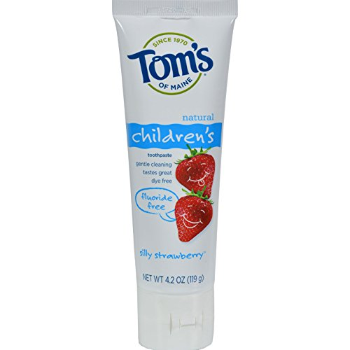 toms-of-maine-childrens-natural-toothpaste-fluoride-free-silly-strawberry-42-oz-case-of-6-by-toms-of