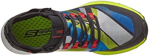 Skechers Go Run Speed Trail Hyper, Black/Multi, 9.5 D