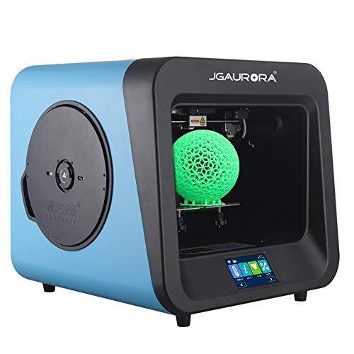 jgaurora Impresora 3D A4 Impresora de única de extrudeuse Pla/TPU ...