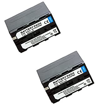 TOP-MAX 2 Pack NP-F970 NPF970 NP F970 970 Lithium-Ion