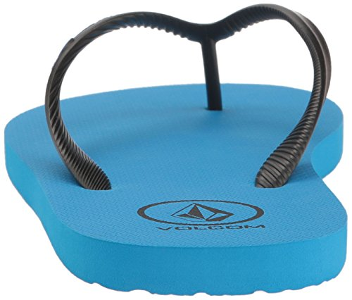 Volcom Mens Rocker Flip Flop Sandal True Blue