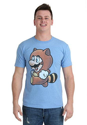 Mario Tanooki Suit T-Shirt Large