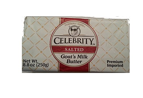 Celebrity Salted Goat's Milk Butter (8.8 ()