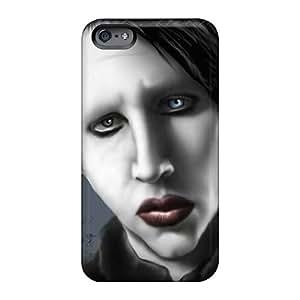 Iphone 6plus OSD4459iOXq Customized Trendy Marilyn Manson Band Pattern High Quality Hard Phone Covers -JamieBratt