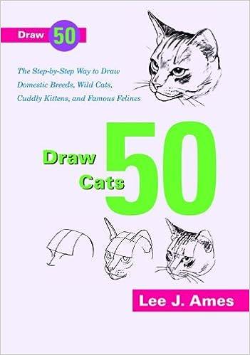 Buy Draw 50 Cats (Turtleback School & Library) Book Online