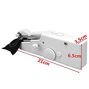 Mini Handheld Sewing Machine, Portable Sewing Machine ARTISTORE Mini Cordless Handheld Electric Stitch Tool for Fabric, Clothing, Kids Cloth, Home Travel Use by ARTISTORE