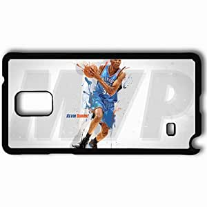 Personalized Samsung Note 4 Cell phone Case/Cover Skin 14777 kevin durant mvp by rgray525 d4vckhm Black by lolosakes