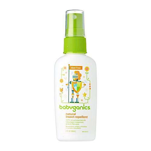 Babyganics Natural Bug Spray, 2 oz, Packaging May Vary (Best All Natural Bug Repellent)