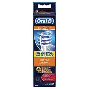 Oral-B Trizone Replacement Brush Heads powered by Braun (EB30-4)