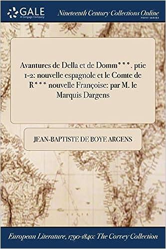 Buy Avantures de Della Et de Domm***  Ptie 1-2: Nouvelle