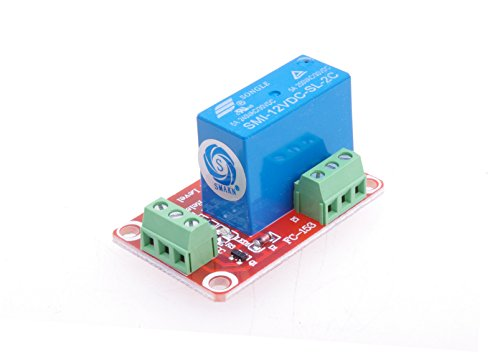 SMAKN® SMI-12VDC-SL-2C DC 12V Double power relay Low Level Optocoupler Relay Module - Dual Relay Module