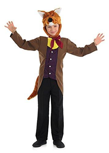 Fantastic Mr Fox Fancy Dress Costume (Mr Fantastic Fox Boys Fancy Dress Animal Book Day Week Kids Childrens Costume (8-10 years))