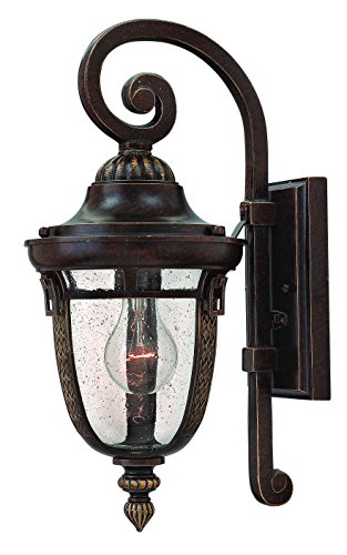 Hinkley 2900RB Traditional One Light Wall Mount from Key West Collection in Bronze/Darkfinish,