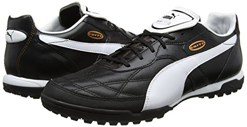 c18fbc33841805 Only Sports Gear Puma Esito CC TT Astro Turf Mens Football Trainers Boots  Black White Red Only Sportsgear