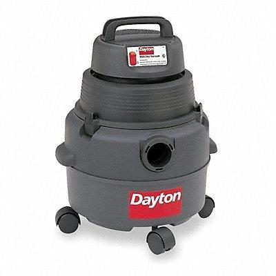 Wet/Dry Vacuum, 4.5 HP, 6 gal, 120V