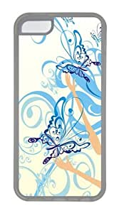 iPhone 5C Case, iPhone 5C Cases -Butterfly Keeper1 Custom TPU Soft Case Cover Protector for iPhone 5C Transparent