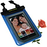 TrendyDigital WaterGuard Plus Waterproof Case with Padding for the Nook eBook Reader from Barnes & Noble, Blue