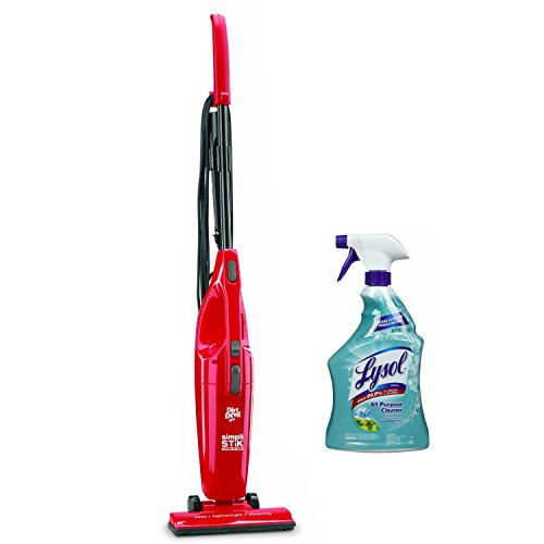 Dirt Devil Simpli-Stik Lightweight Bagless Corded Stick Covertible Vacuum with Lysol All Purpose Cleaner, 32 Ounce
