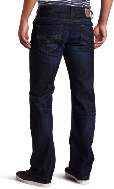 Diesel Larkee Regular Straight Leg 0073N dżinsy męskie: Odzież