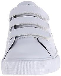 Polo Ralph Lauren Kids Scholar EZ Tumbled-Multi P Sneaker (Toddler/Little Kid),White,10.5 M US Little Kid