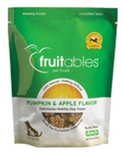 Fruitables Crunchy Dog Treats -Pumpkin and Apple 7 Ounces, My Pet Supplies