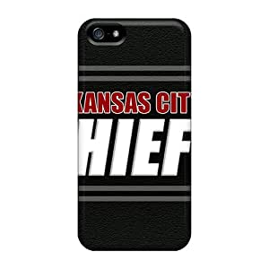 For TAMasons Iphone Protective Case, High Quality For Iphone 5/5s Kansas City Chiefs Skin Case Cover