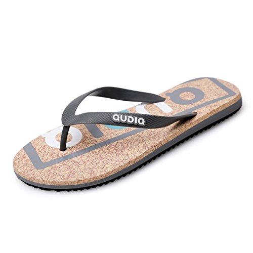Pantofole Infradito Sandin Flat Sandal Infradito Bininbox Open-toe Casual Grigio