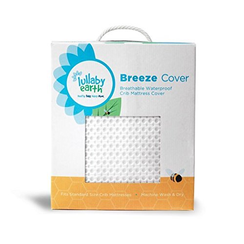 Breeze Breathable Washable Crib Mattress Pad by Naturepedic
