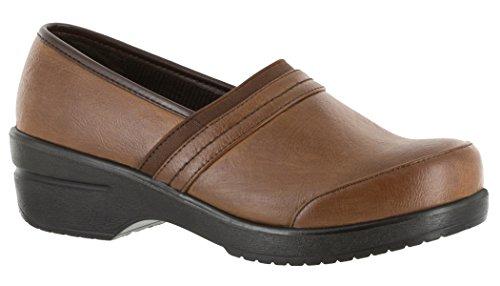 Easy Street 30-0454 Women's Origin Shoe, Tan Burnished/Gore - 11 W by Easy Street