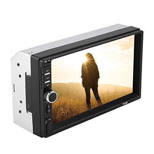 Akozon MP4 MP5 Player 7018B 7'' HD Car MP4 MP5 Player AUX Stereo BT Handsfree LCD FM Radio Remote Control by Akozon (Image #6)