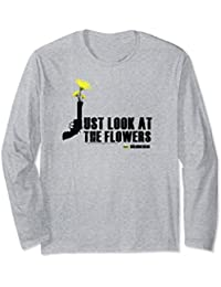 The Walking Dead Just Look At The Flowers Long Sleeve Tee