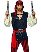 Costume Culture by Franco LLC Mens Pirate Adult Carribbean Halloween Costume
