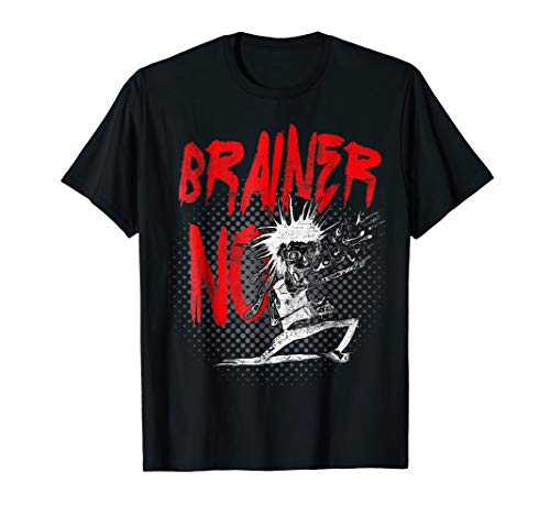 No Brainer - Funny Rocker Zombie Joke
