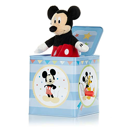 Disney Baby Mickey Mouse Jack-in-The-Box - Musical Toy for Babies from KIDS PREFERRED