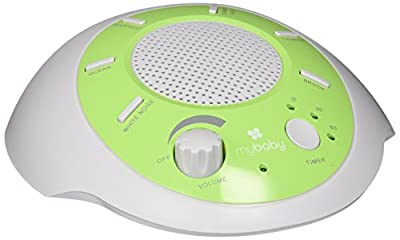 HoMedics SoundSpa Portable Sound Machine color-Green/White