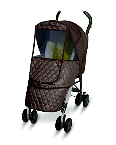 Manito Castle Alpha Stroller Weather Shield (Chocolate)