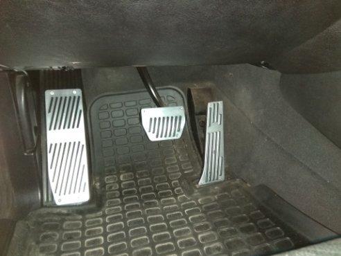 RaxTDM Non-Slip Performance Foot Pedal Pads for BMW X1 M3 E39 E46 E87 E84 E90 E91 E92