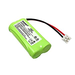 HQRP Phone Battery for General Electric GE 27911 27909 27903 27956 25250 27955, RCA 25250RE1 25250RE1-A H5250RE1-B T-2734, RCA Visys TC25055 Cordless Telephone plus Coaster