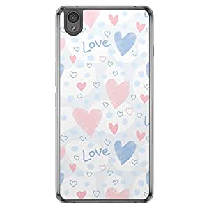 Loud Universe OnePlus X Love Valentine Printing Files Valentine 167 Printed Transparent Edge Case - Multi Color