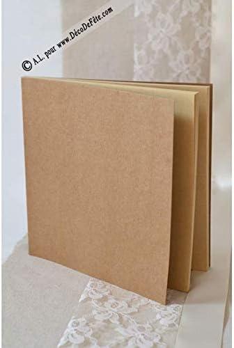 LAPLASTOSE 1 Livre d'or Kraft carré Leon