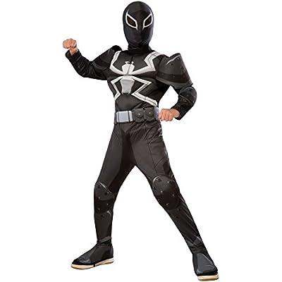 Rubie's Ultimate Spider-Man Agent Venom Deluxe Children's Costume, Small: Toys & Games