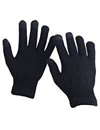 EvridWear Unisex Merino Wool Winter Gloves, Smartphone Touch Screen Gloves for Men & Women