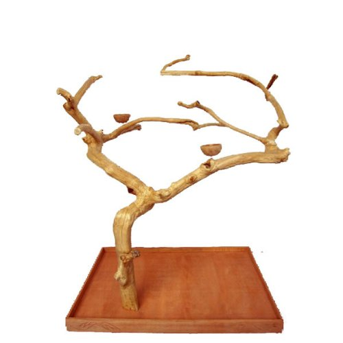 A&E Cage Company Large Single Java Tree ? 48?x 32? x 66? Java Wood