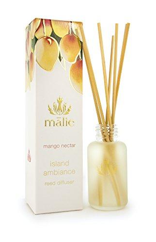 Malie Island Ambiance Reed Diffuser - Travel - Mango - Nectar Travel