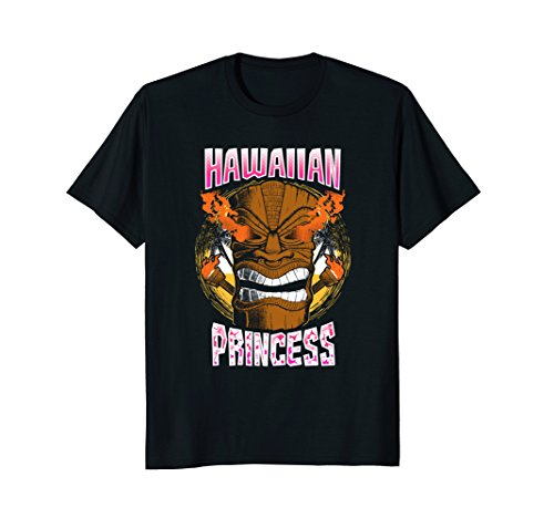 Hawaiian Princess Party Costume T-shirt Hawaii Tiki (Male Hawaiian Dancer Costumes)