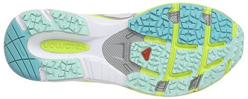 Salomon EU Green Gecko Blue Compétition Femme 3D Bubble 36 X Multicolore de Scream White Chaussures Running Rose AAHBFwq